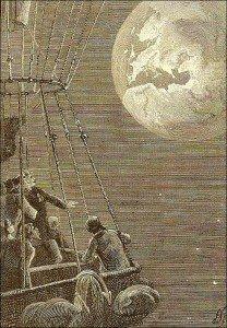 voyage vers la terre