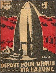 départ pour vénus