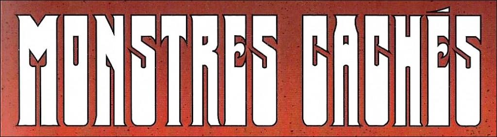 monstres cachés logo