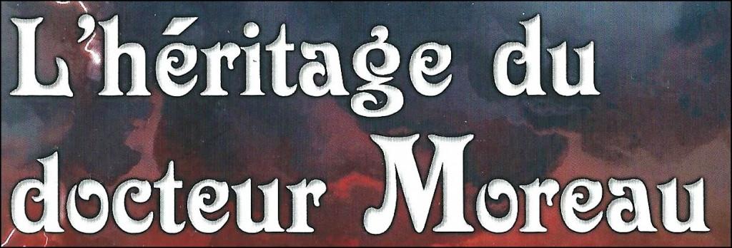 l'héritage du docteur moreau logo